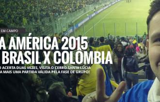 Apostador em Campo #18 – Copa America 2015 – Brasil vs Colômbia