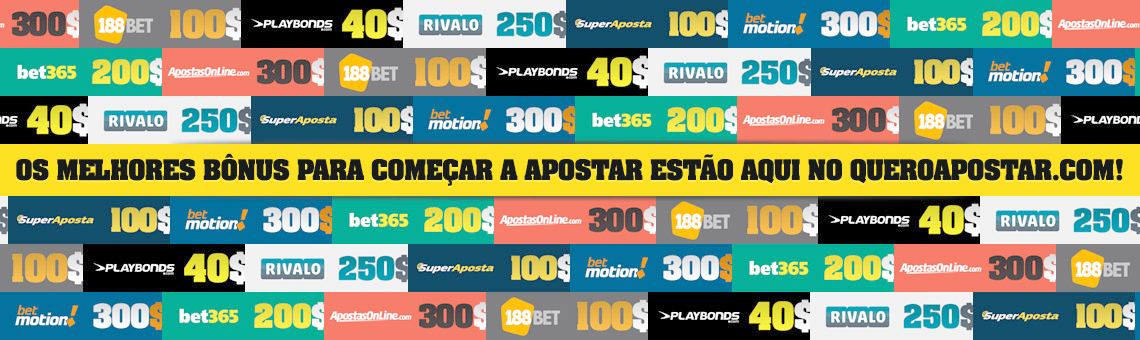 Melhores bônus de apostas do Brasil