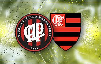Cashback de 25% em Atlético-PR vs Flamengo