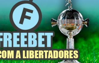 Deposite e receba freebet na Libertadores