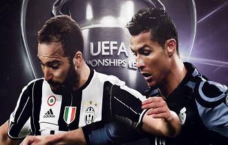 Chuva de gols na Champions League