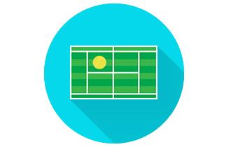 Bônus de 25% nos jogos de tênis
