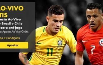 Brasil vs Chile – Aposta Ao vivo Grátis