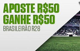Aposte R$ 50 e ganhe R$ 50 no Brasileirão