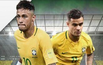 Ganhe R$ 50 no jogo do Brasil