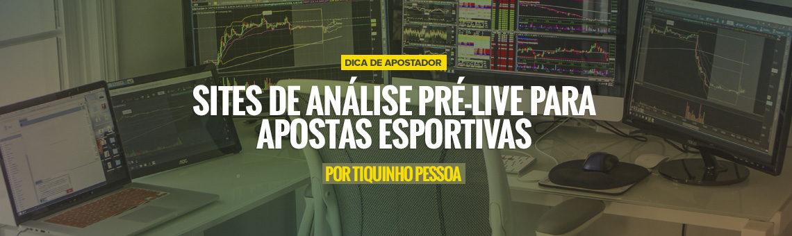 Sites de análise pré-jogo para Apostas Esportivas