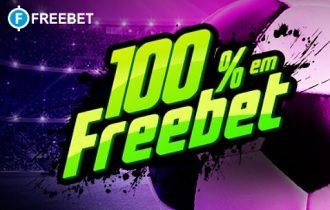 100% em freebet para você!