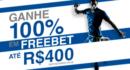 Ganhe 100% de freebet na Libertadores